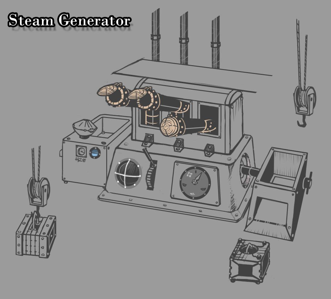 Dan burke tml steamgenerator
