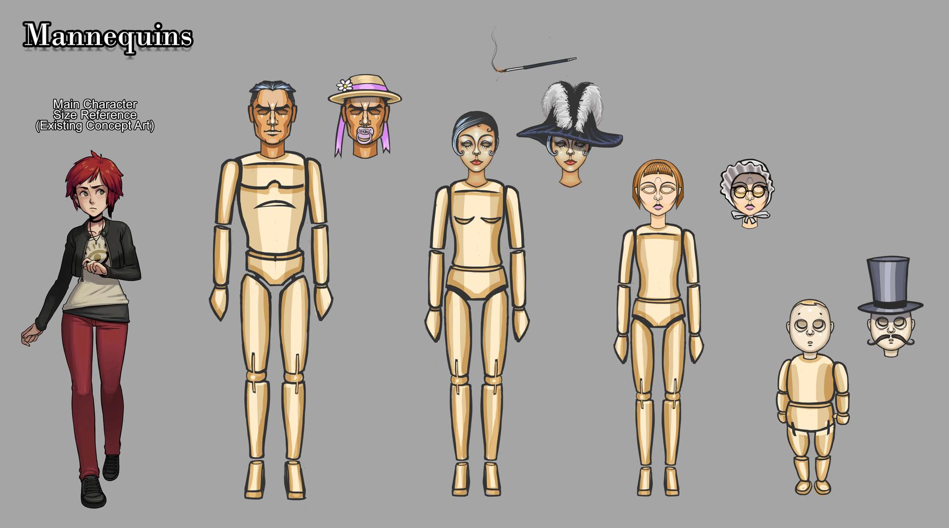 Dan burke tml mannequins
