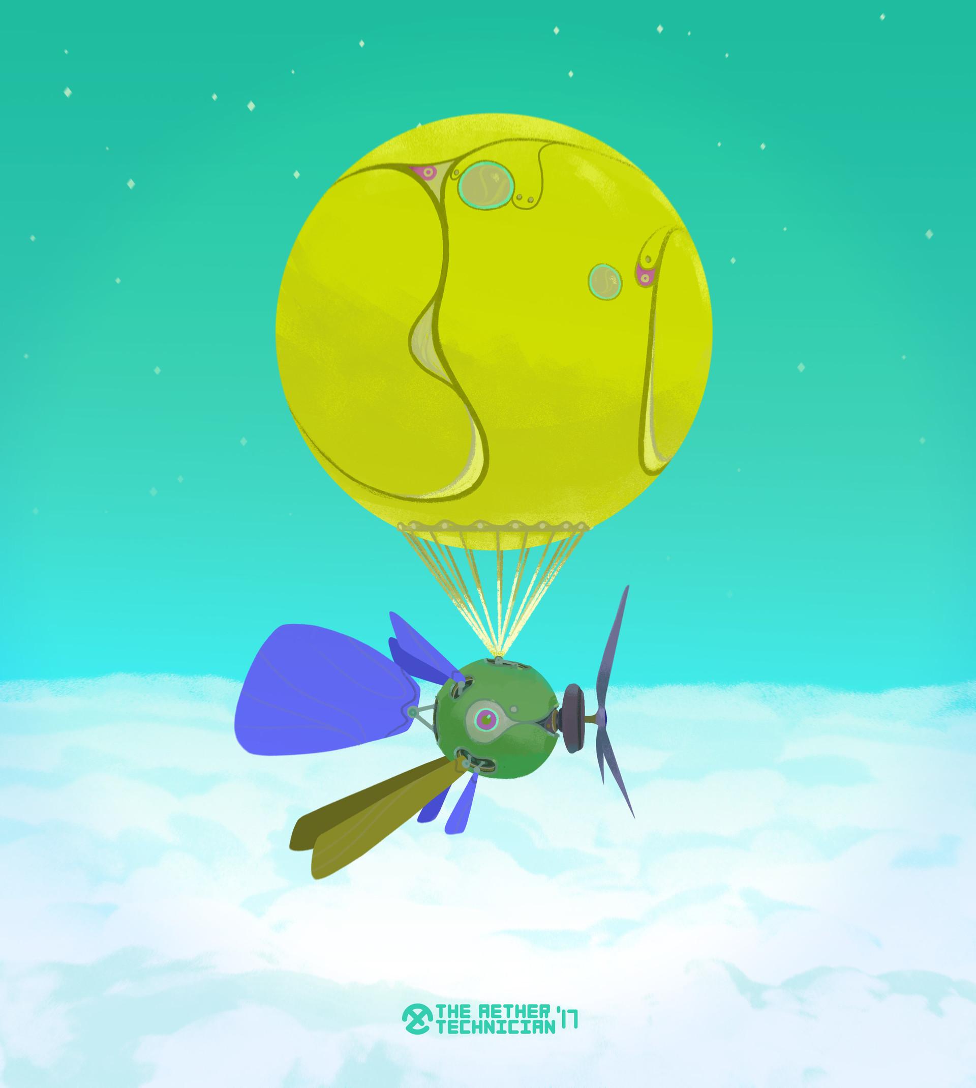 Samuel herb balloon drone