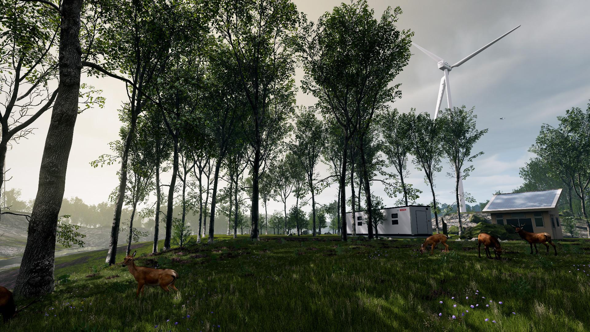 ArtStation - Bosch Energy Storage VR Demo - UE4, Mohamed Fawzy