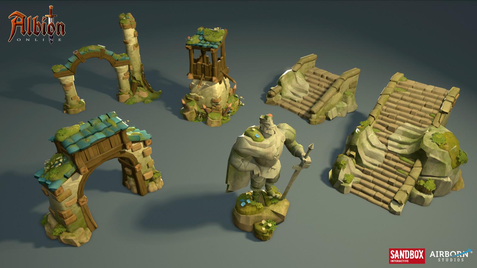 Highland ruins by David Fraaß, Aljona Bulgar, Alexandra Graap & Jonas Kunert