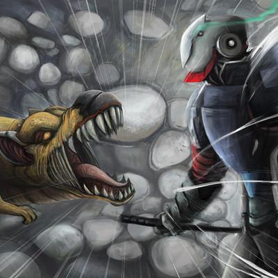 Gery han machine duel