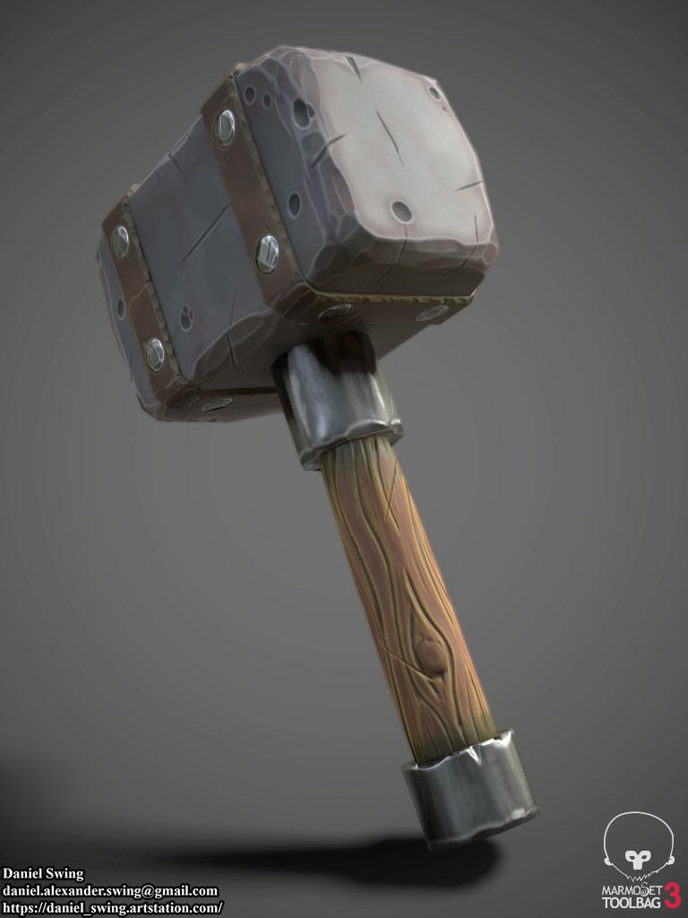 Daniel swing stylizedhammer 5