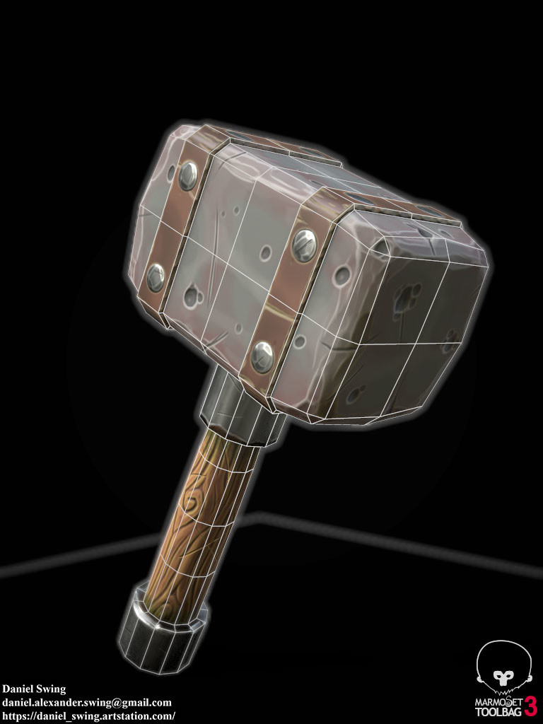 Daniel swing stylizedhammer 8