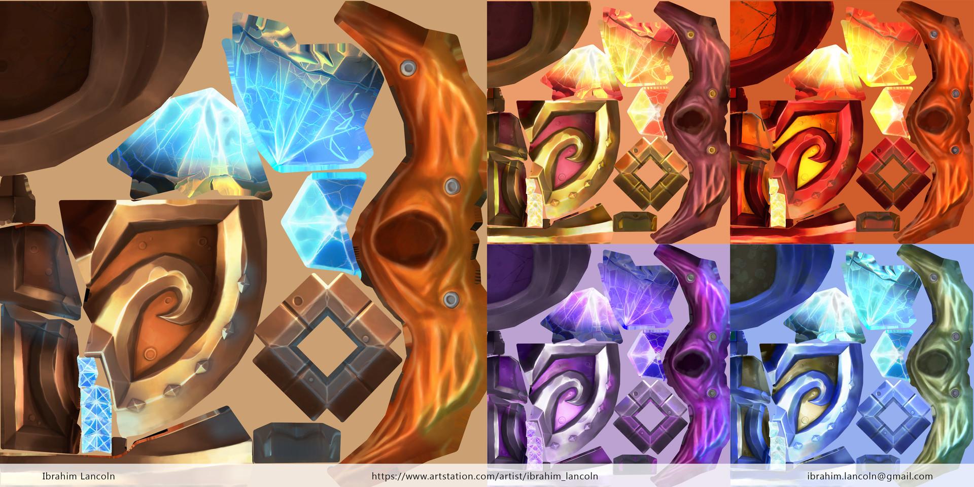 Ibrahim lancoln wc artstation textures