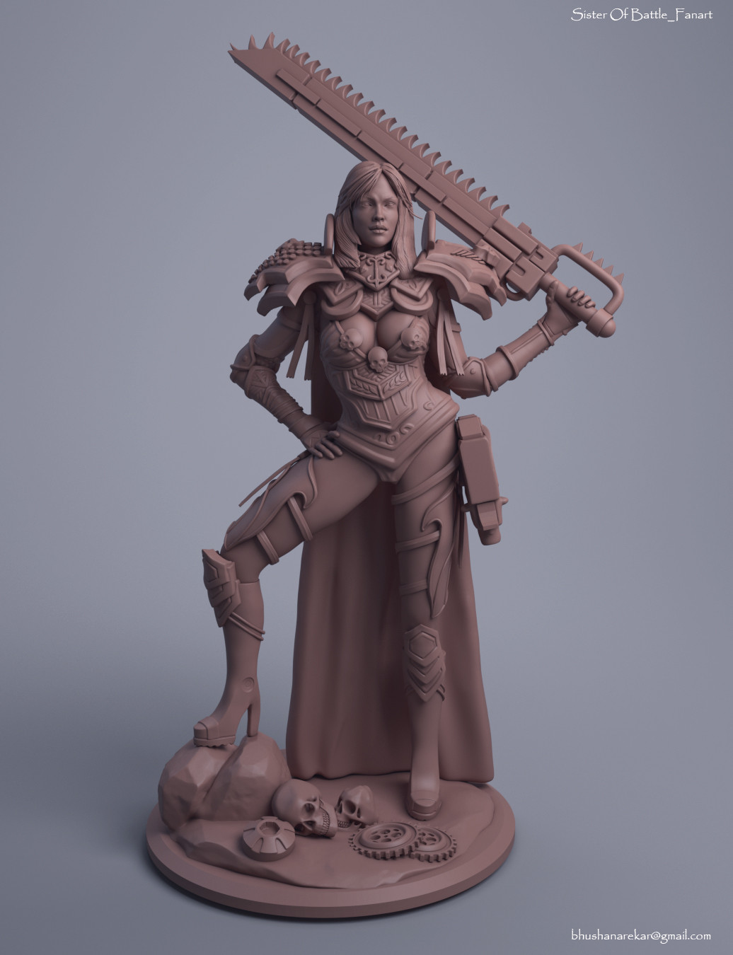 Bhushan arekar sister of battle clay