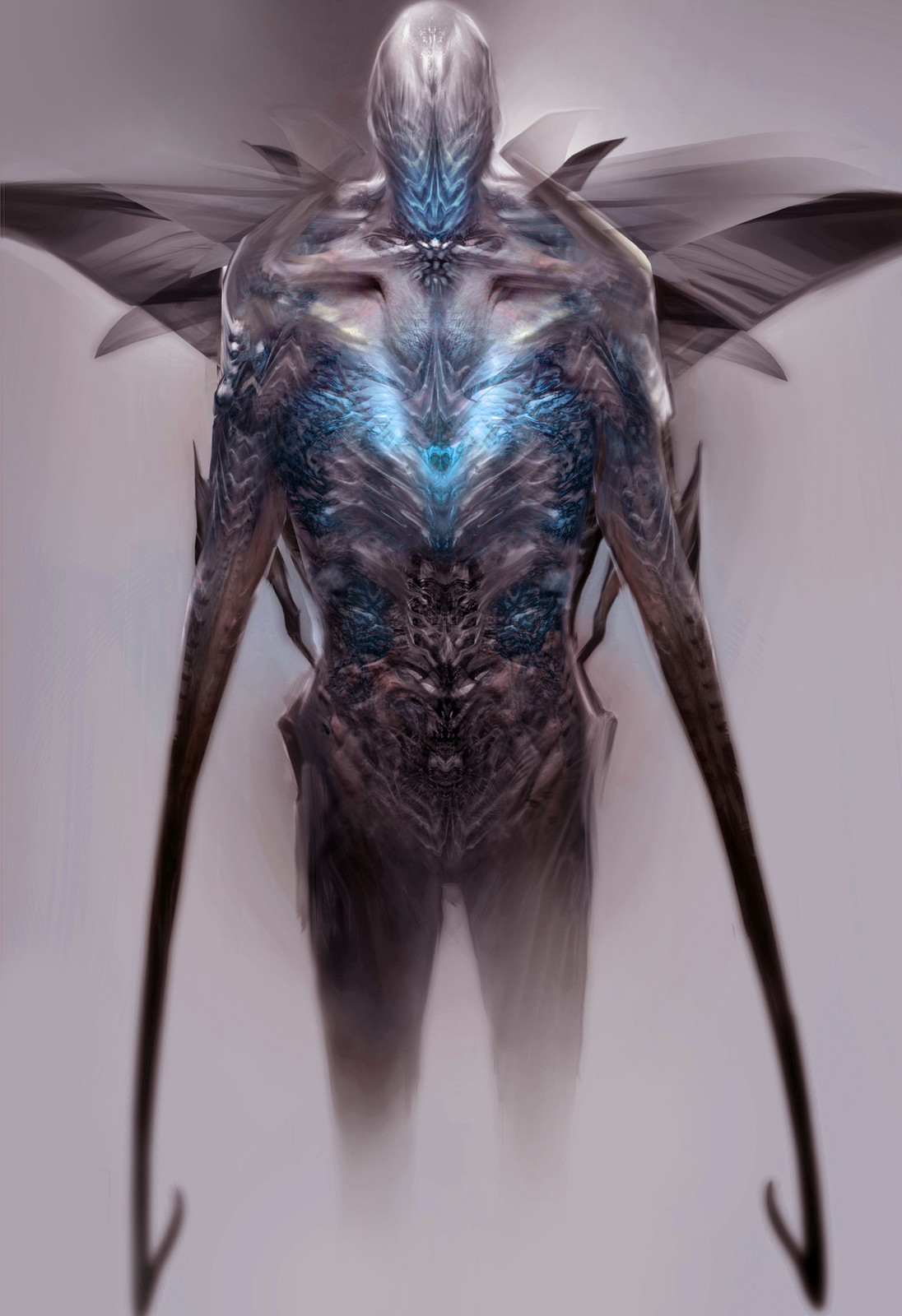 Creature design for unrealized project