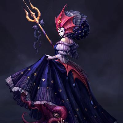 Character Design Challenge - Carnaval of Venice