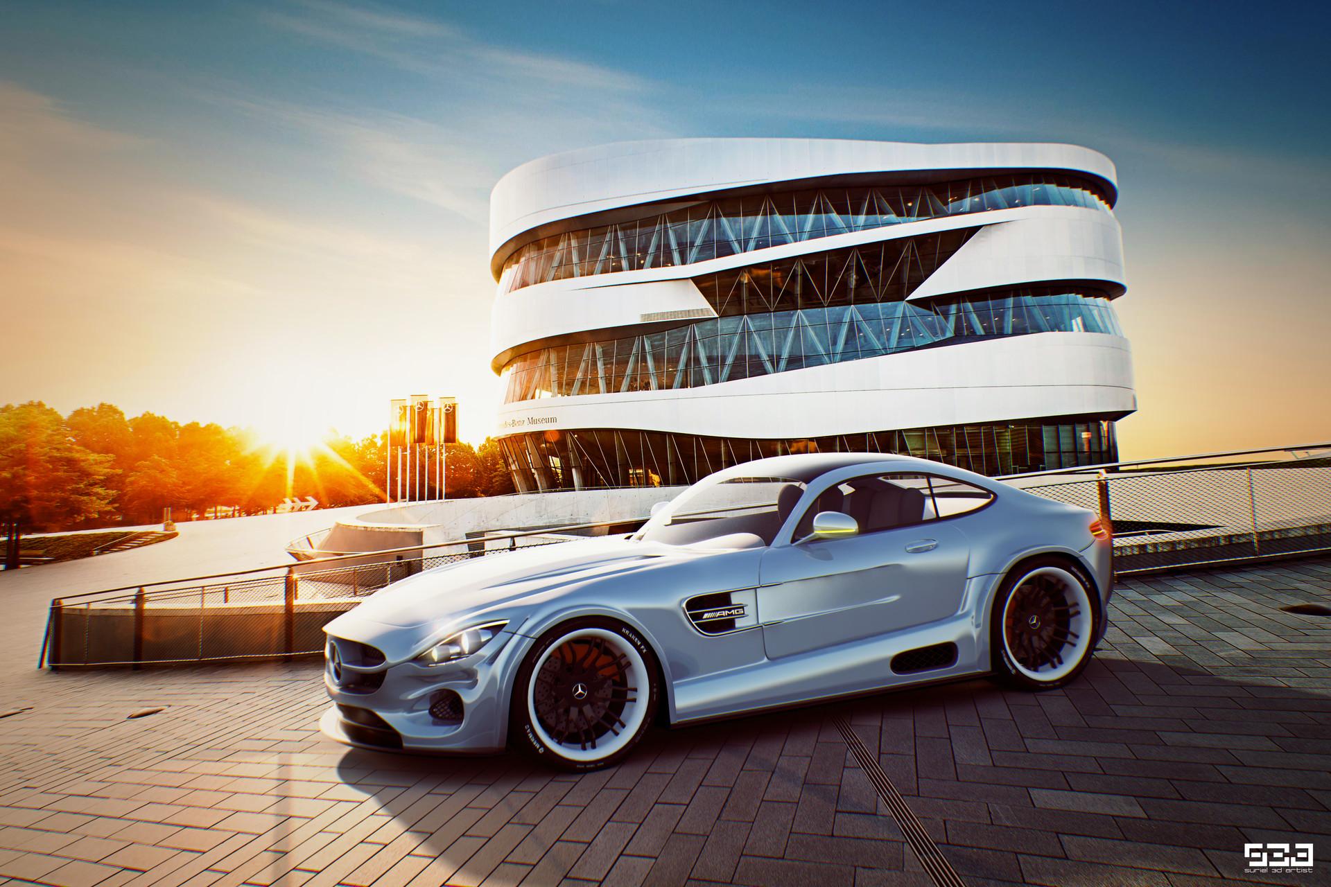Mercedes Benz Amg Gt Concept