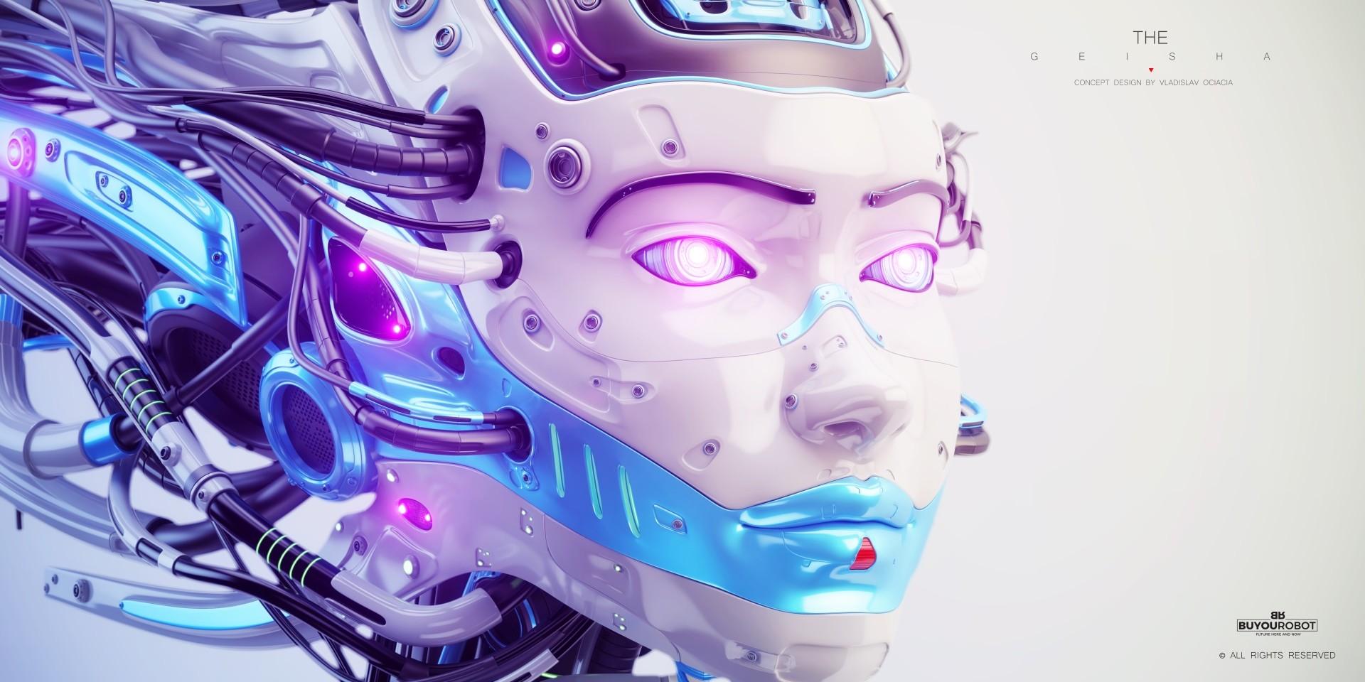 Vladislav ociacia geisha robot 6
