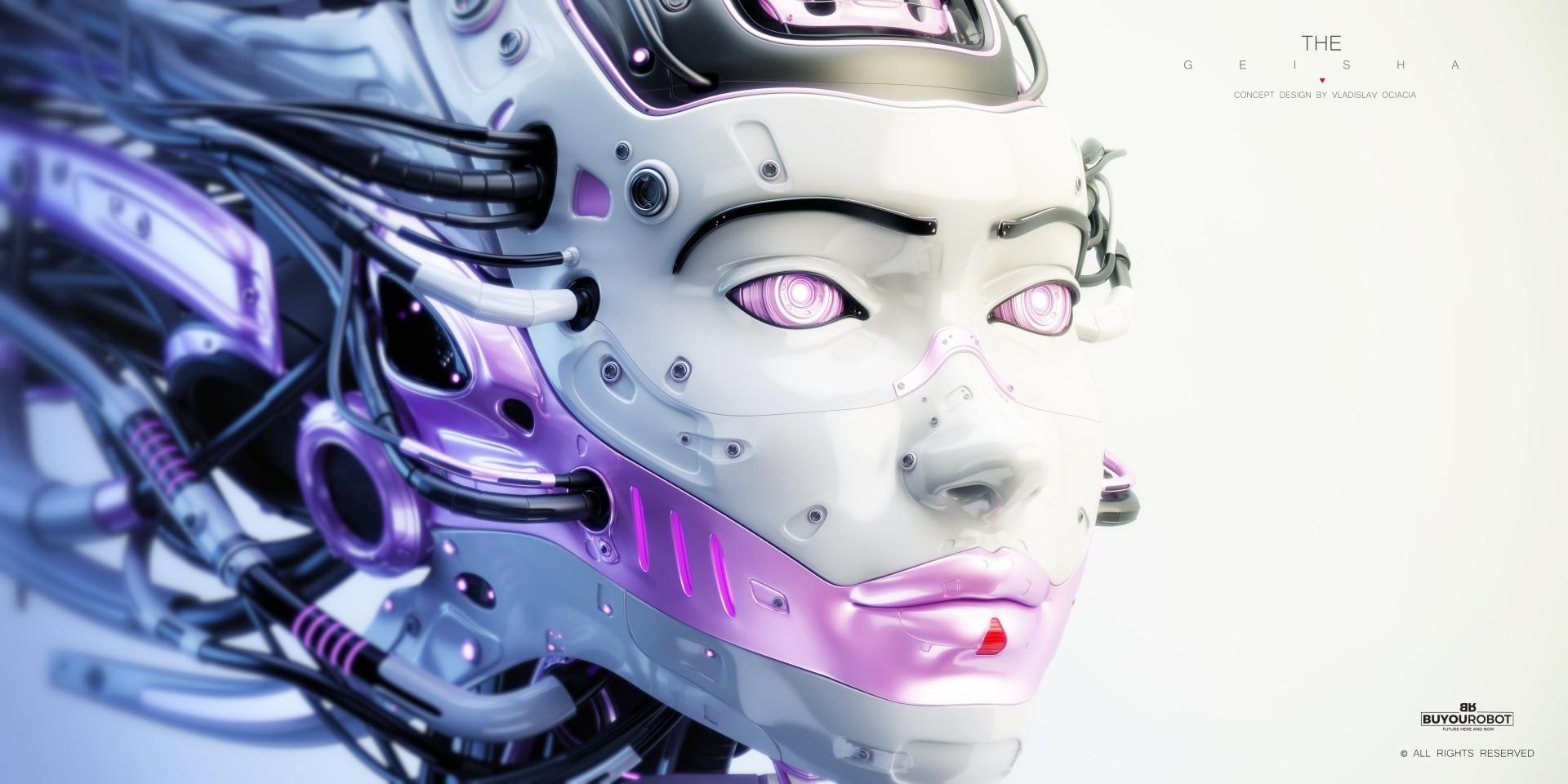 Vladislav ociacia geisha robot 3