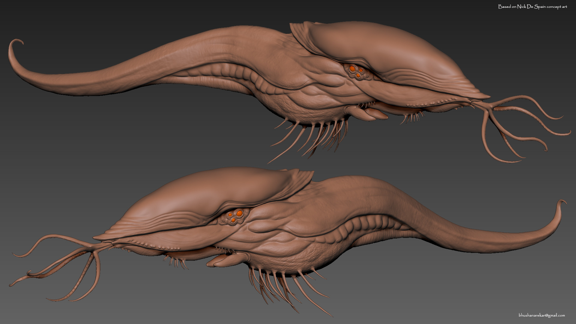ZBrush screenshot.