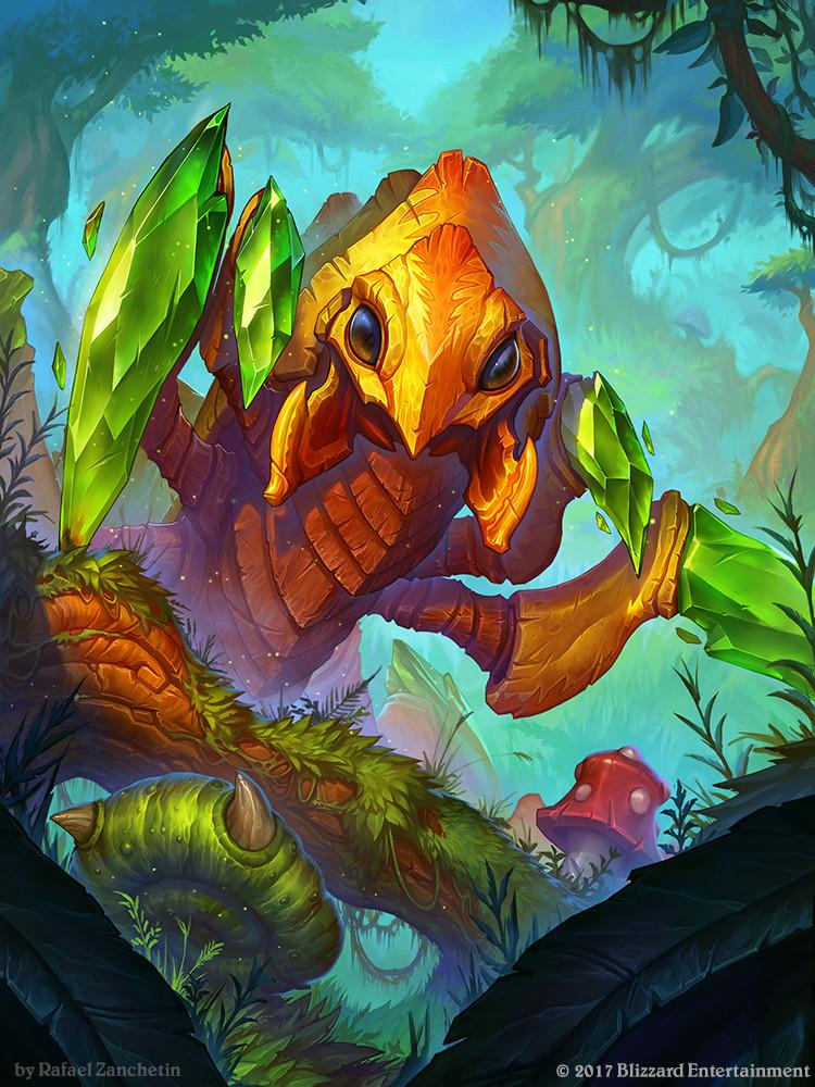 Hearthstone - Emerald Reaver