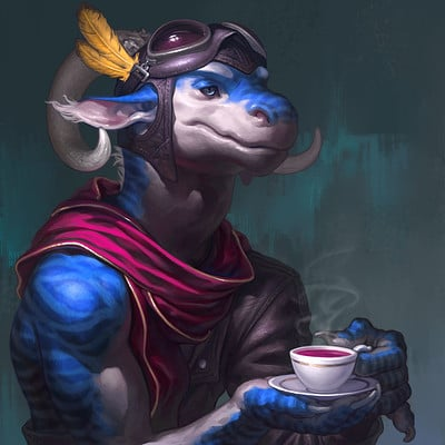 Taran fiddler dragoncharacterblue2a