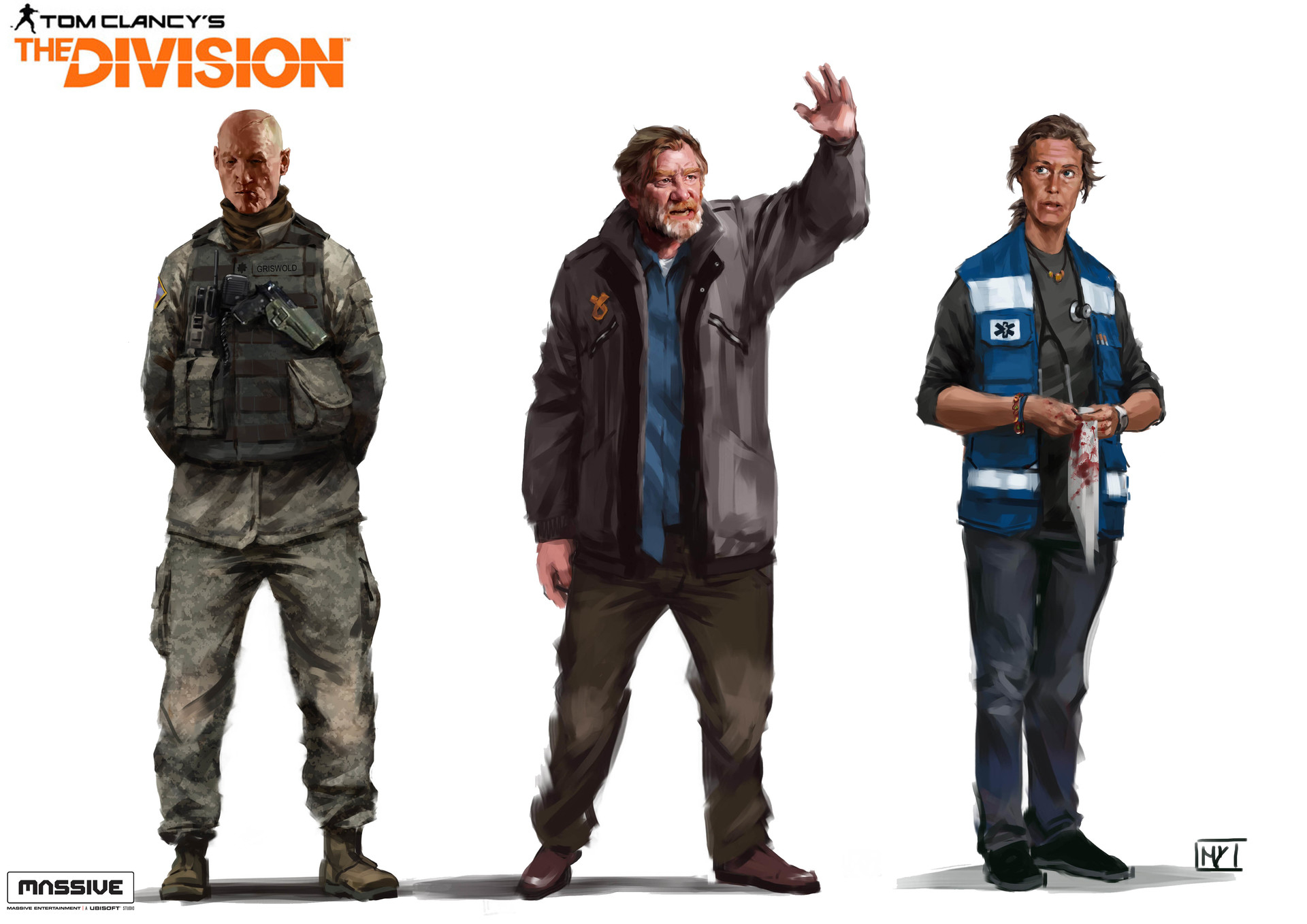 Miguel iglesias thedivision mixcharacters11