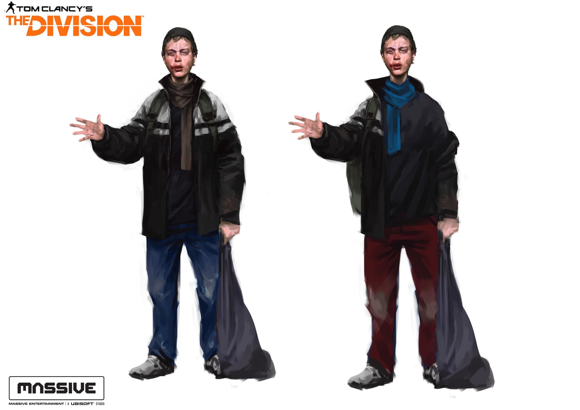 Miguel iglesias thedivision mixcharacters7
