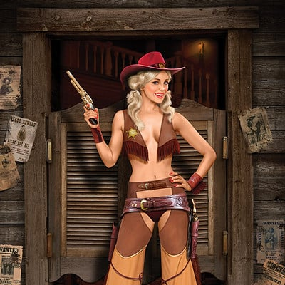 Valery petelin cowgirl