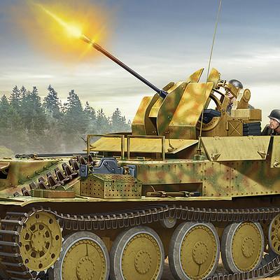 Valery petelin flakpanzer 38 t