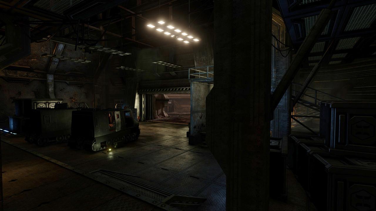 ArtStation - Doom2 E1M1 remake (KF-Entryway), João Burini