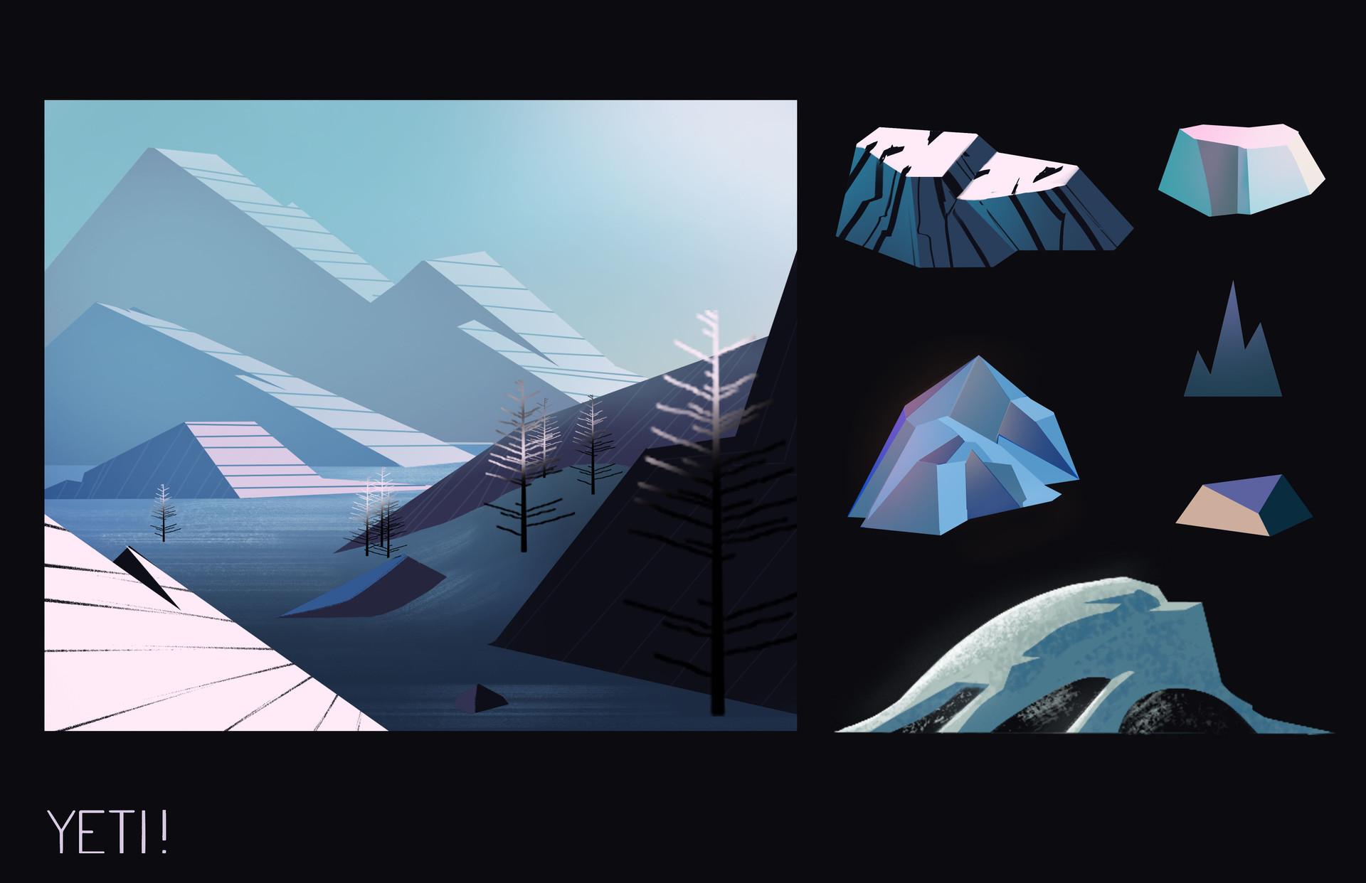 ArtStation - Yeti Environments, Chris Zollna