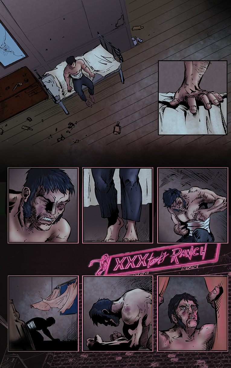 Bullets and Angels Issue 1 page 4