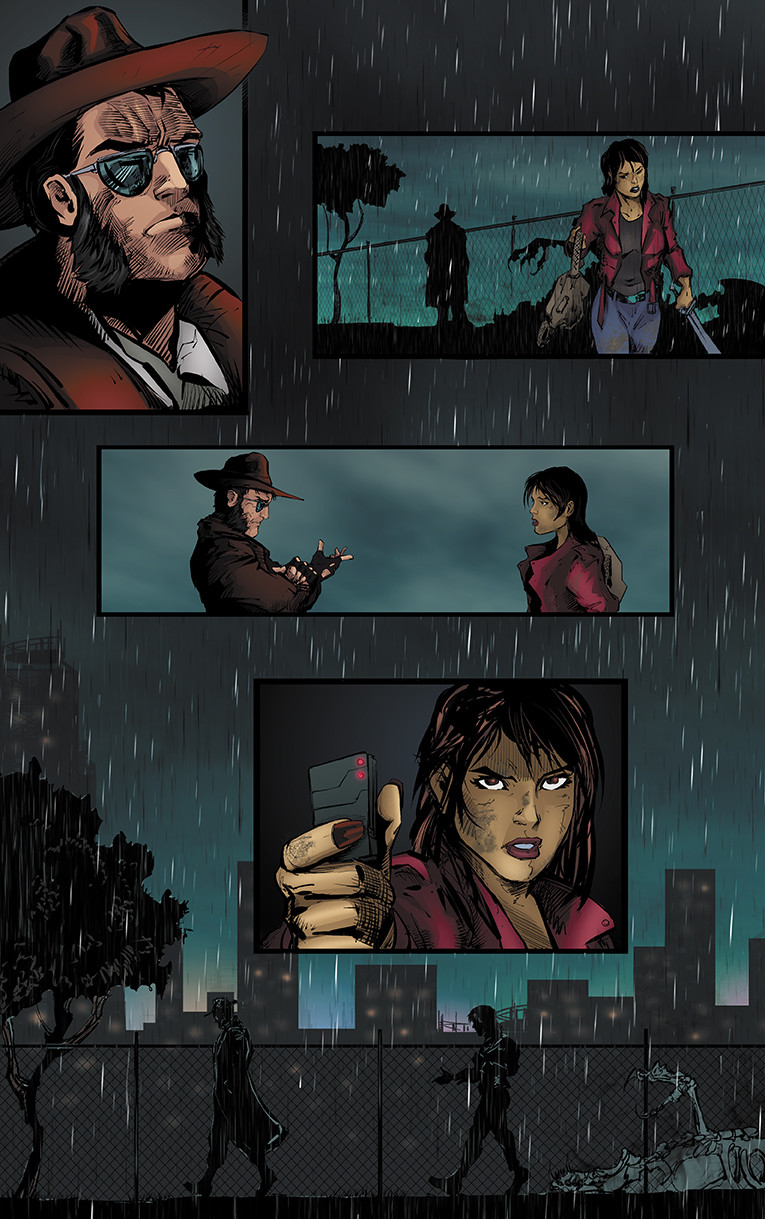 Bullets and Angels Issue 2 page 5