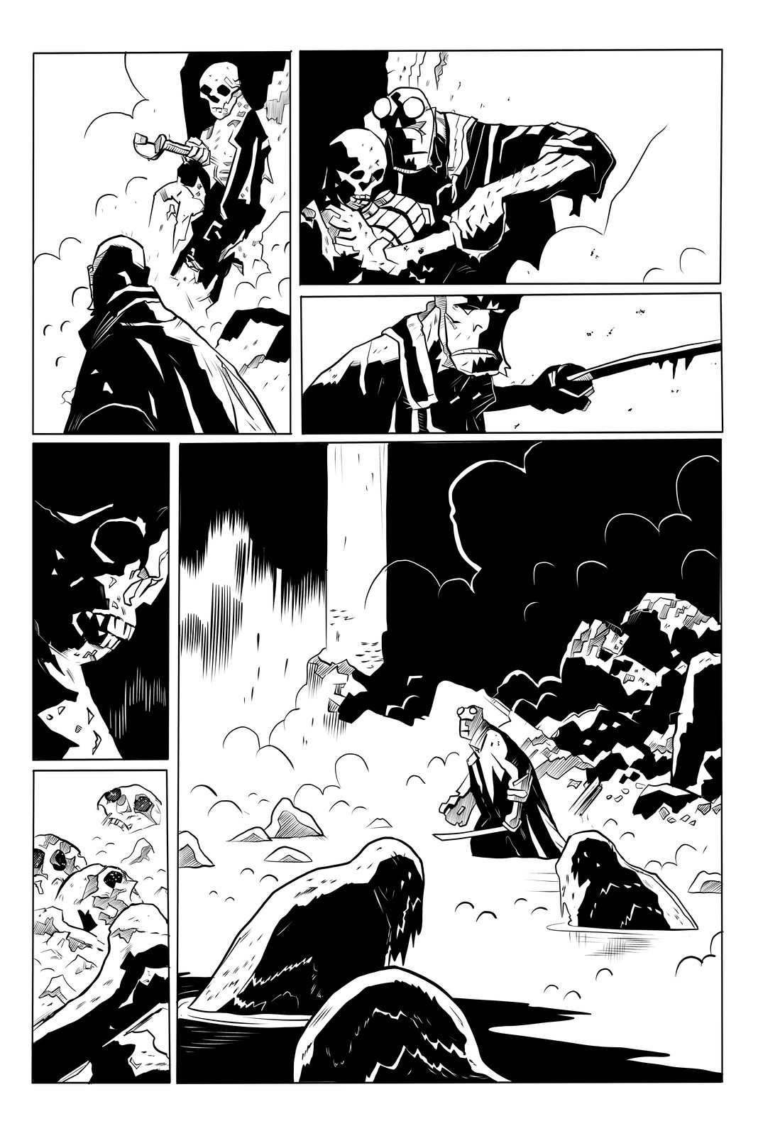 Hell Boy - The Island Sample Page 3 of 5