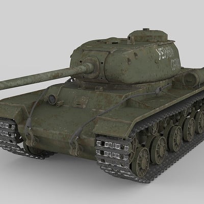 WW2 KV-85 Tank