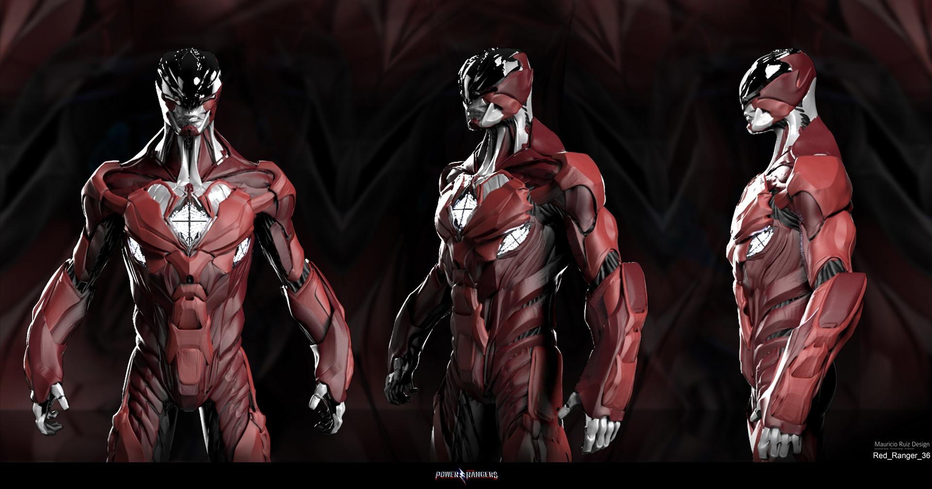 Power Rangers Concept Art Showcases Alternate Red Ranger