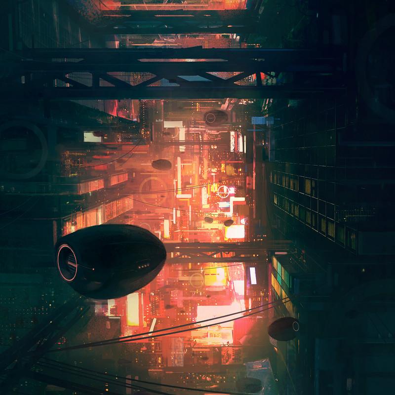 Cyberpunk City 02