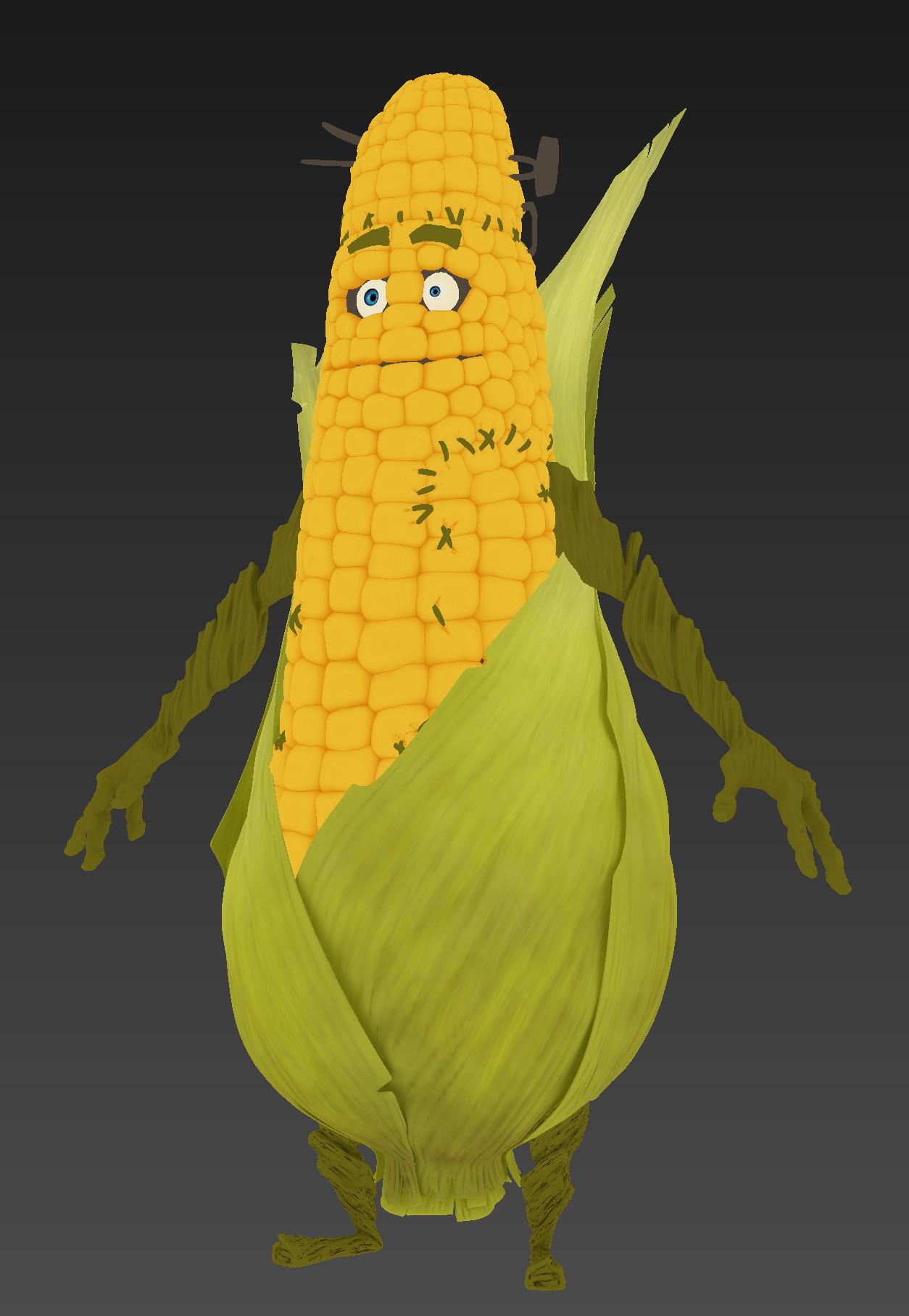 Olivier couston corn texture