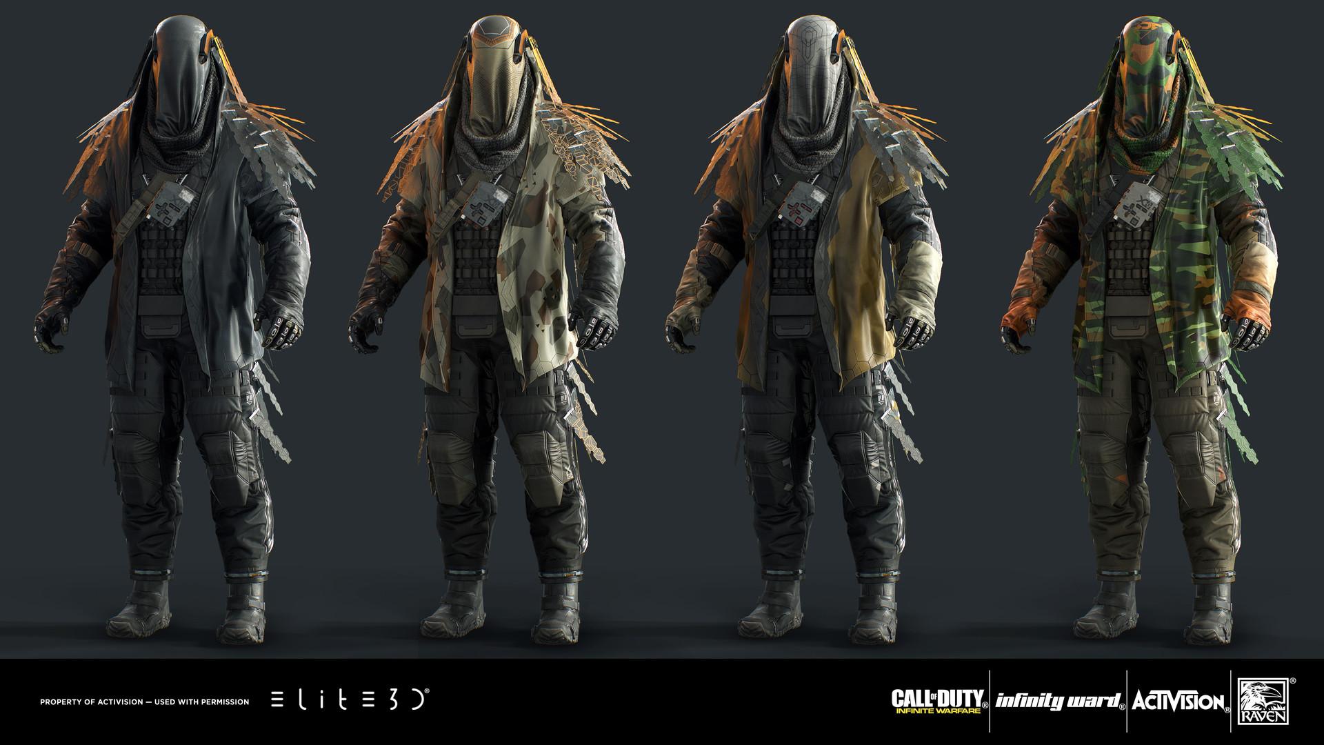 Elite3d Call Of Duty Infinite Warfare Quot Phantom Quot Character