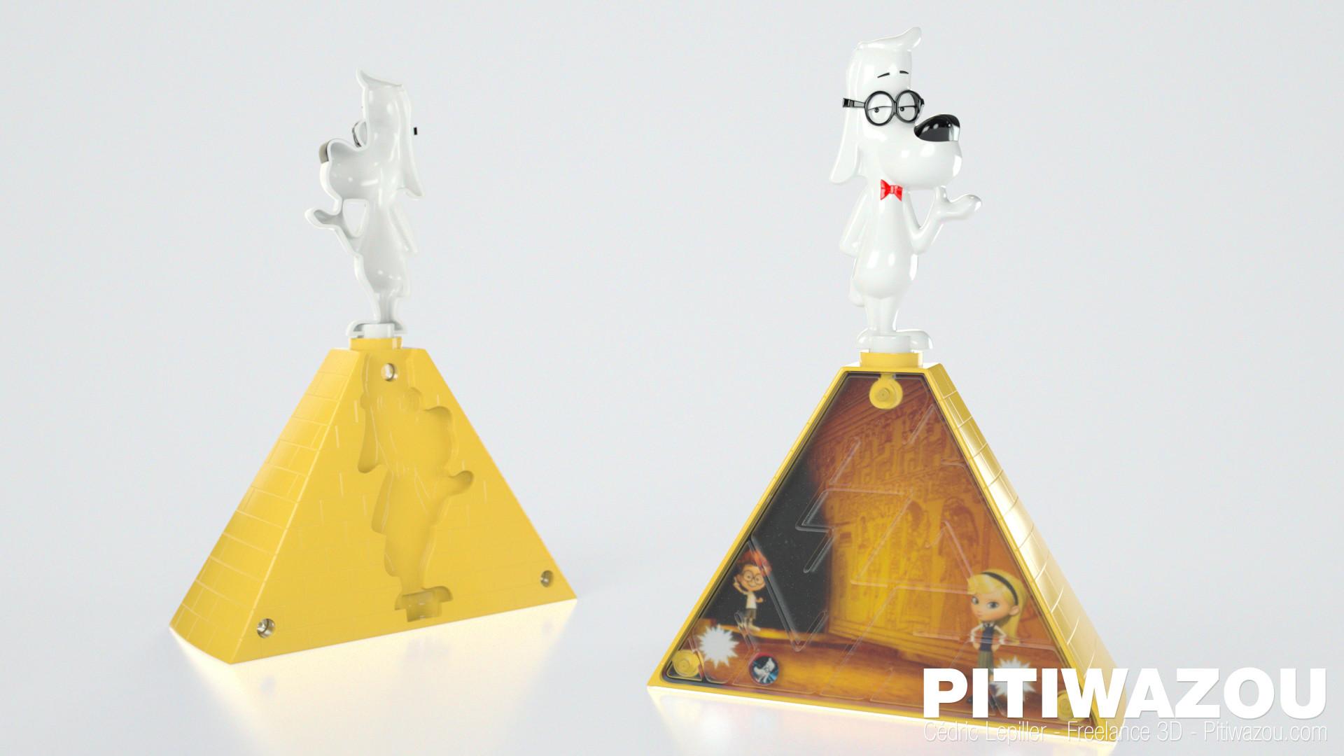 Cedric lepiller cedric lepiller pitiwazou jouets mcdonalds mpeabody pyramide
