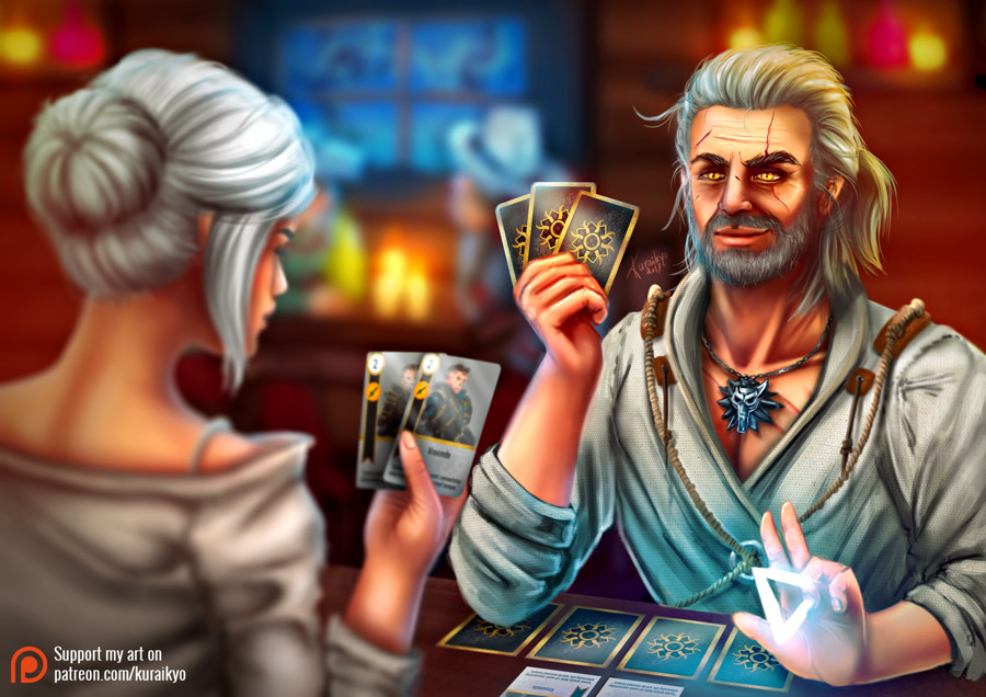 [Fanart] Let's play Gwent