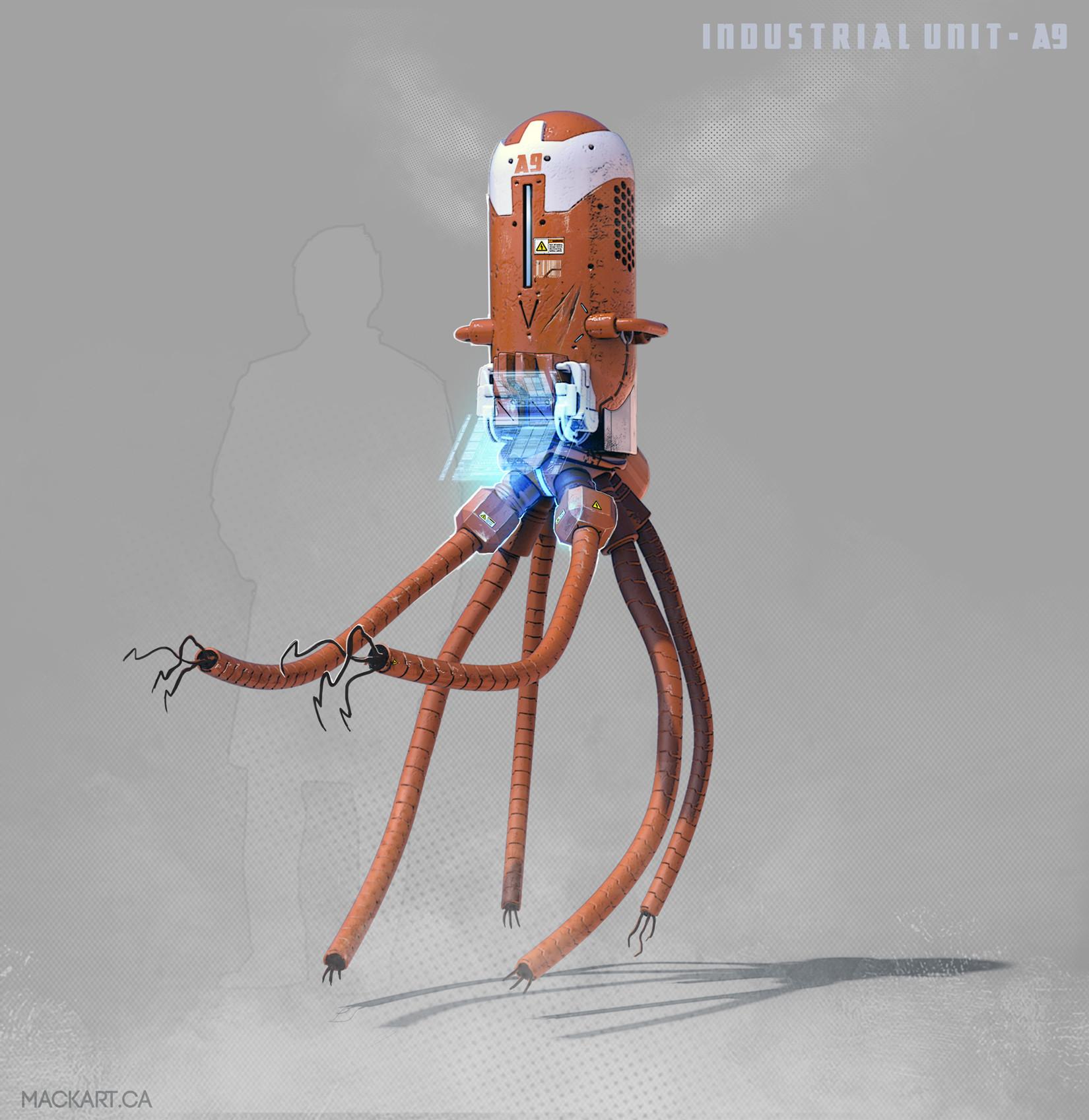 Mack sztaba industrial bot 2
