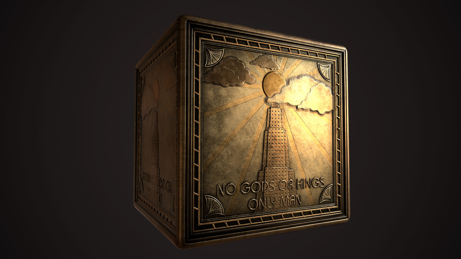 Bioshock Art Deco Substance Tribute