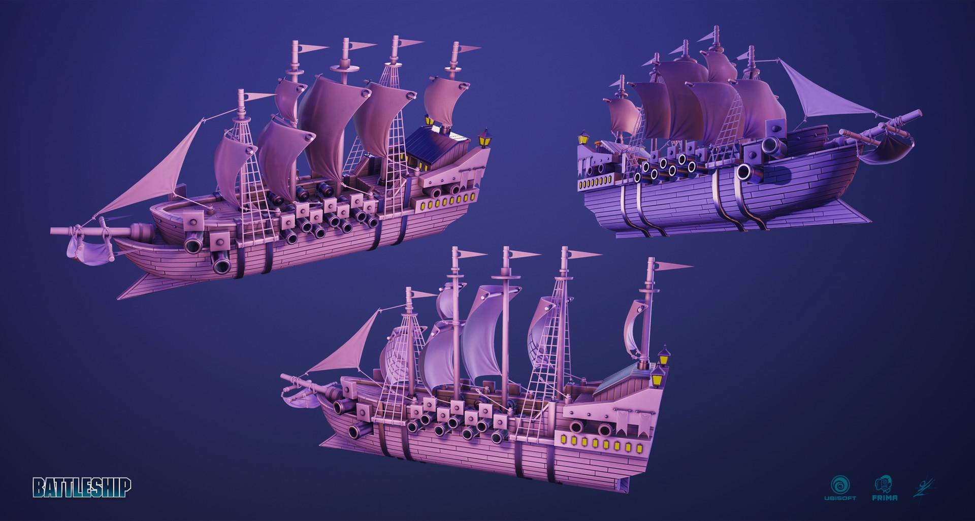 Guillaume lachance pirate battleship 01