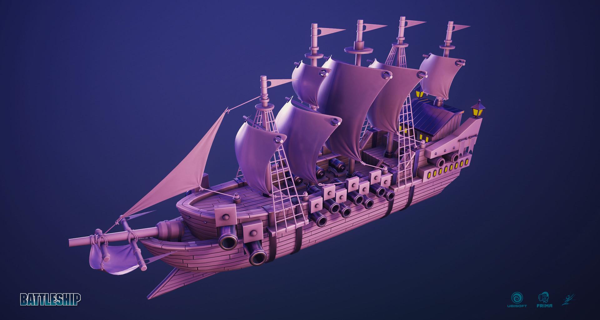 Guillaume lachance pirate battleship 02