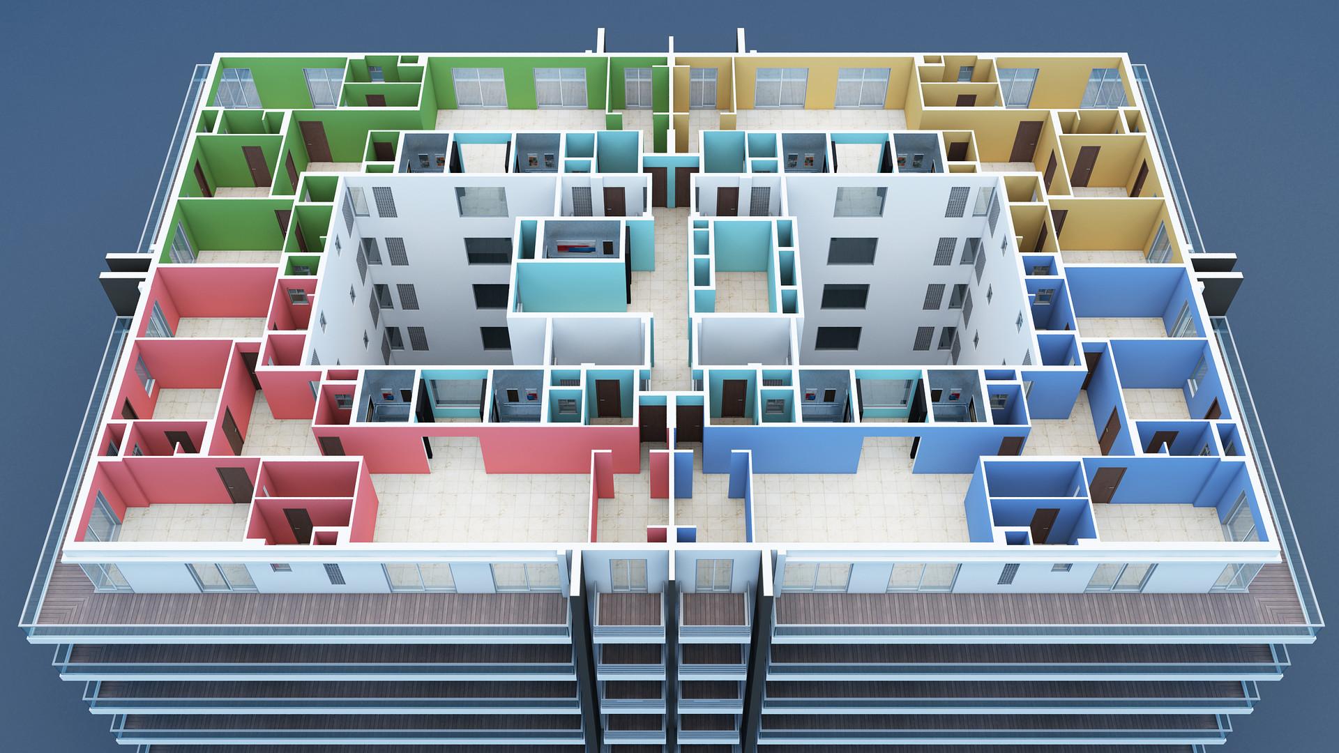 Ranjeet singh 3 bhk ab floor plan