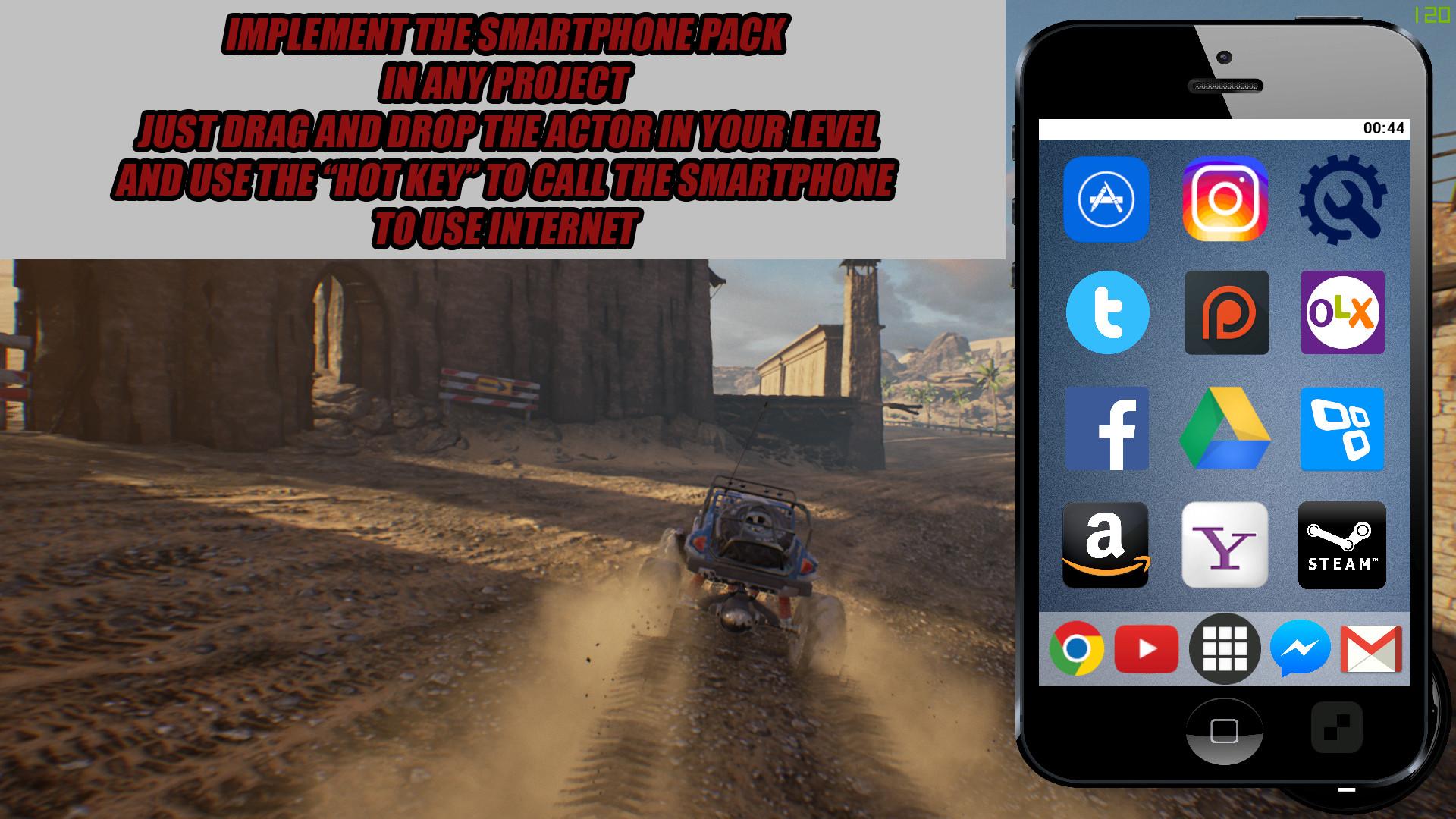 ArtStation - Smartphone UE4, Luciano Jacomeli