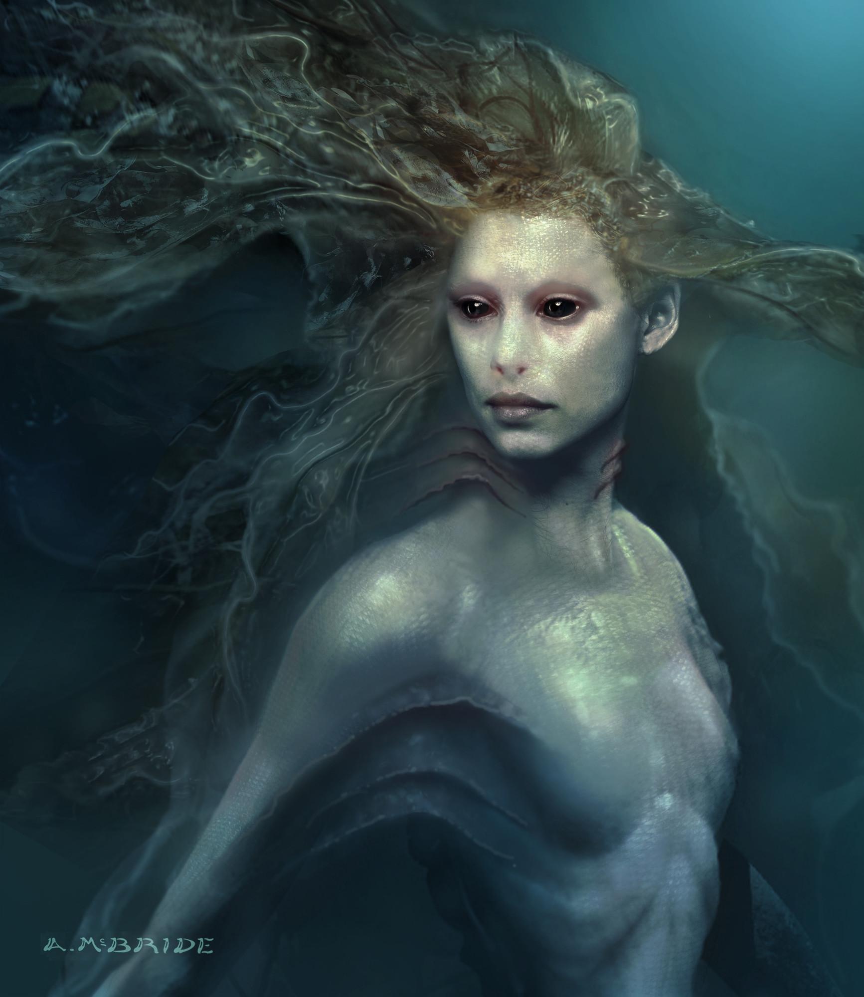 Pirates des Caraïbes : La Fontaine de Jouvence [Disney - 2011] - Page 15 Aaron-mcbride-mermaid-portrait-03