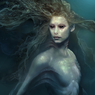 Aaron mcbride mermaid portrait 03