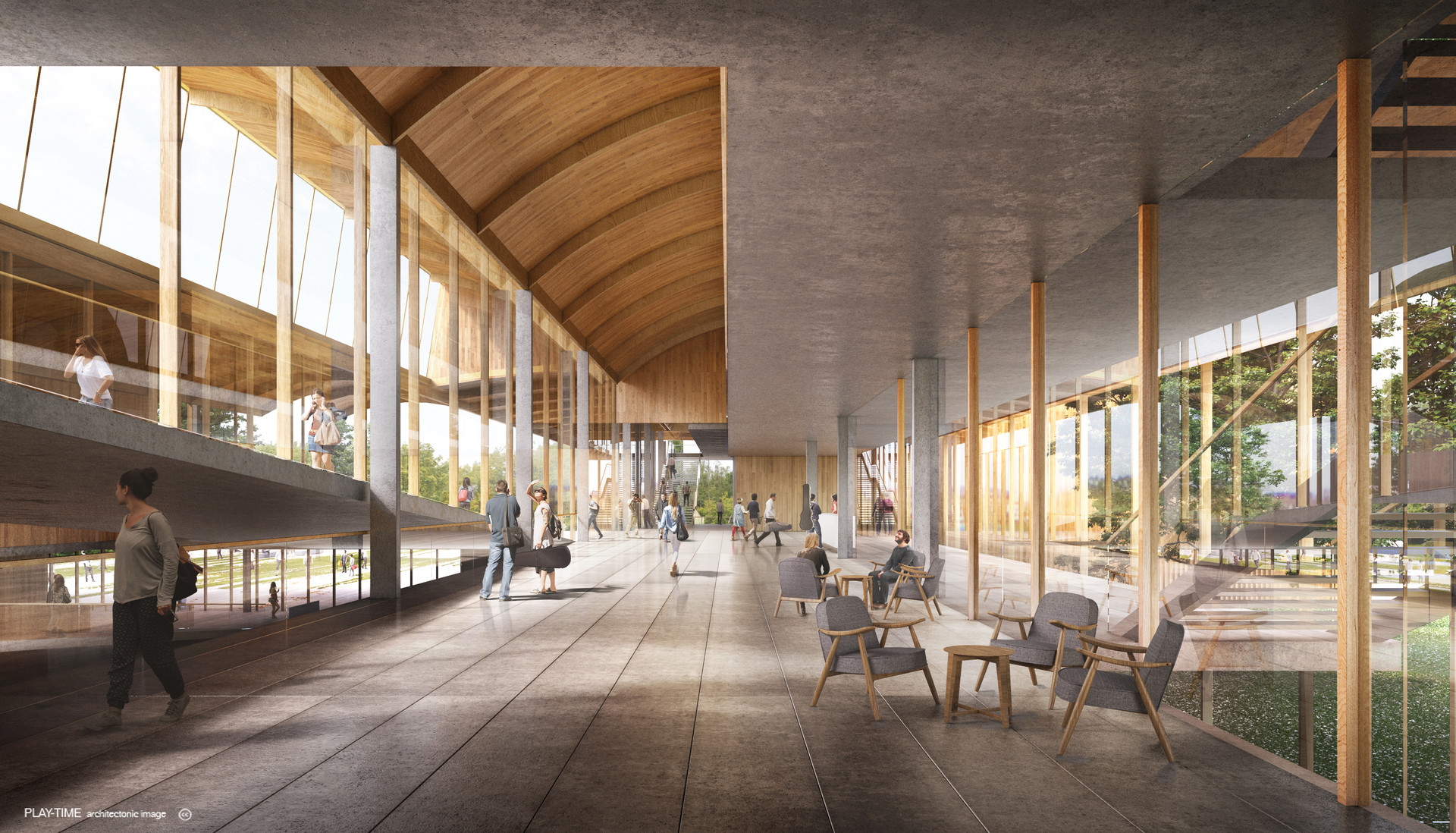 Play time architectonic image eovastudio conservatory in crackovia 01