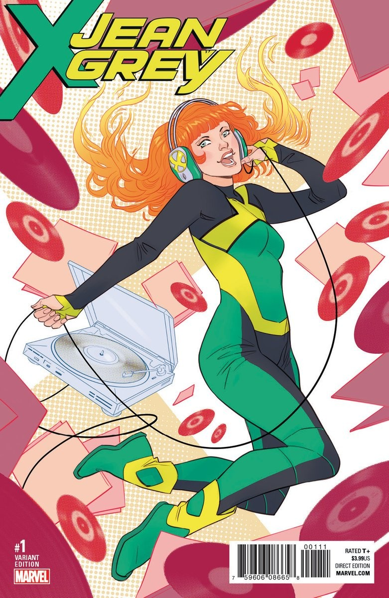 Jean Grey - first solo series variant cover - Marvel Comics