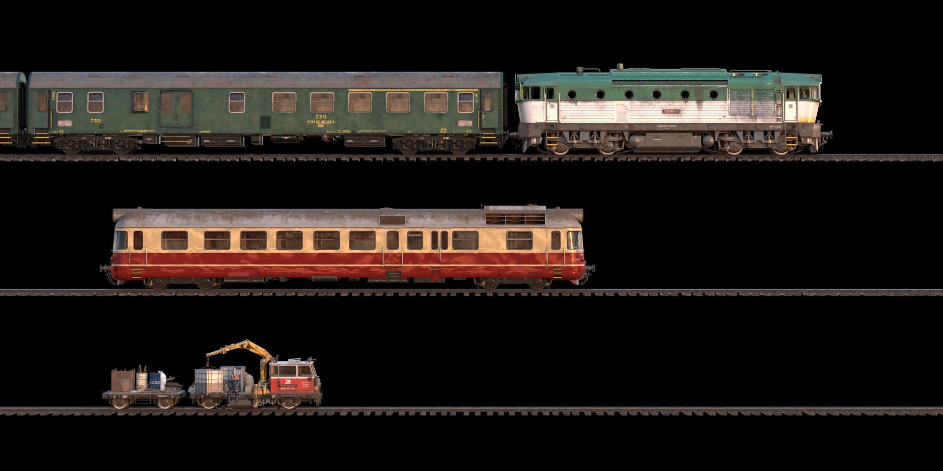 Marcel haladej horehronec trains