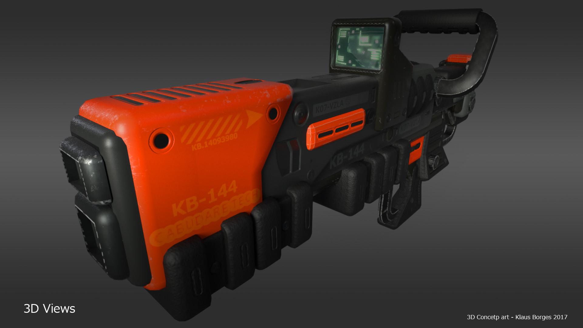 Klaus borges mockup rifle2 orange