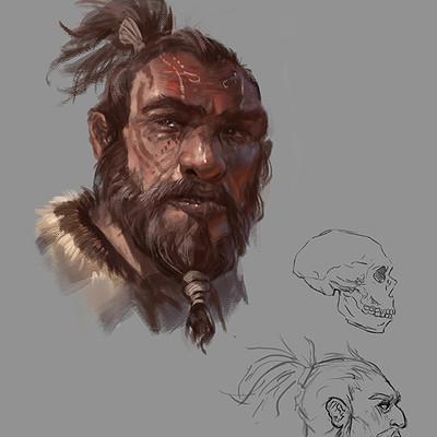 Raph lomotan neanderthalsketch