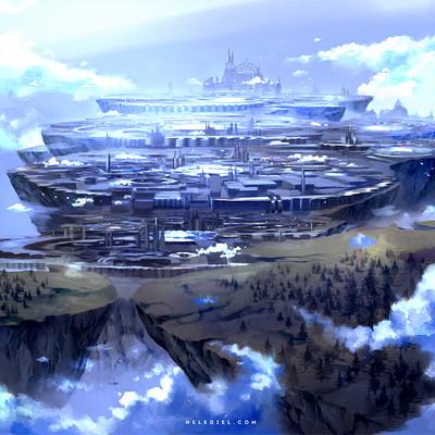 Nele diel floating city