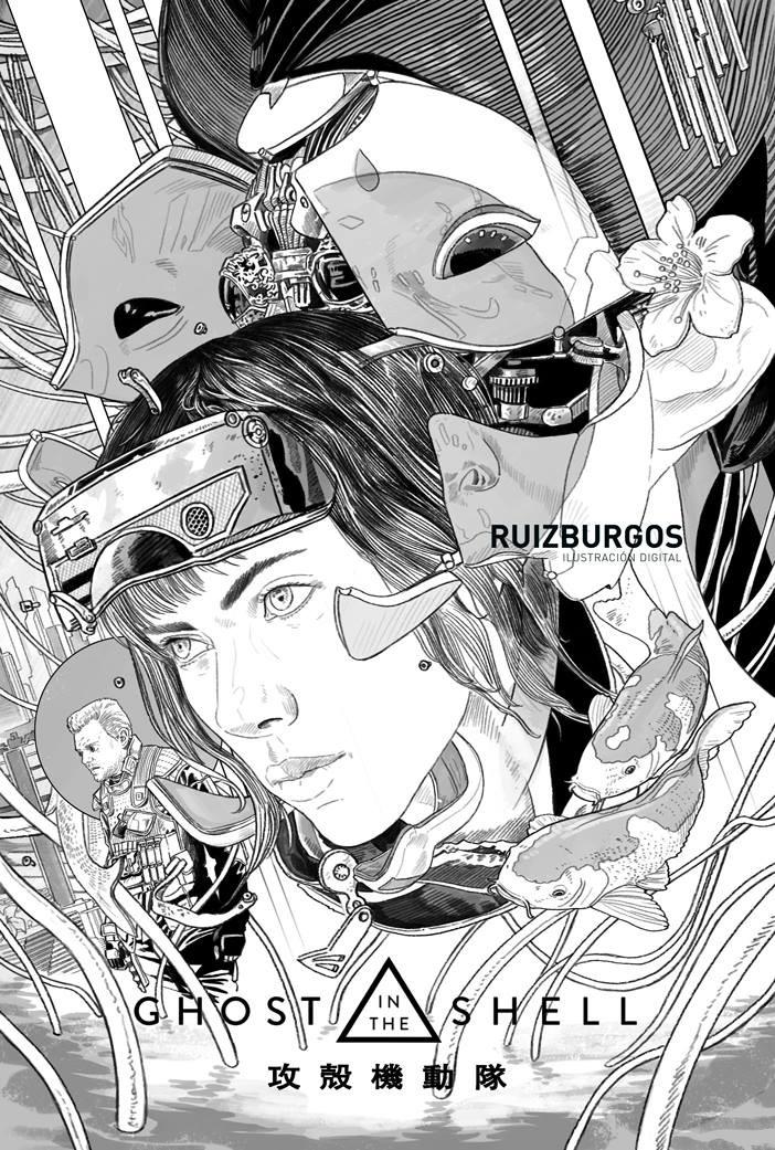 Ruiz Burgos Ghost In The Shell