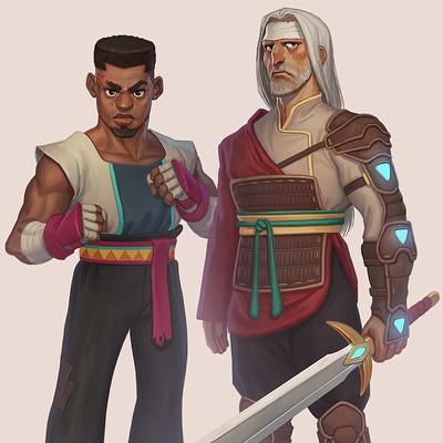 Dan and Udyr